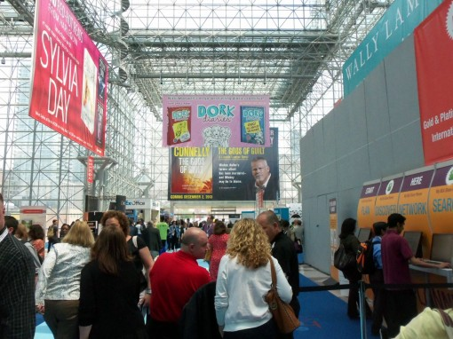 The Javits Atrium at BEA 2013 | Photo: Porter Anderson
