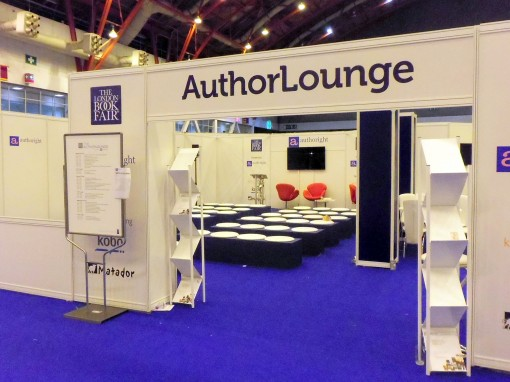 3 June 2013 AuthorLounge at LBF 2013