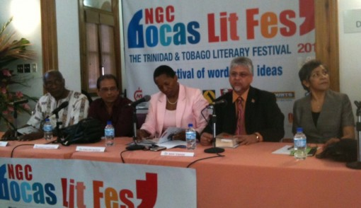 CALAG Literature Group at work at this year's NGC Bocas Literary Festival