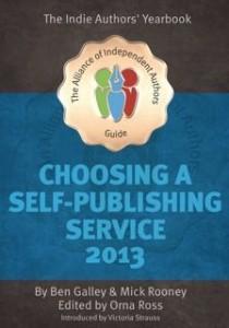 Choosing a Self-Publishing Service 2013