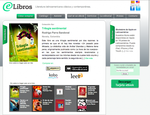 Elibros Screenshot