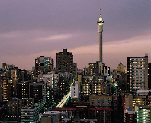 The stories of country girls moving to the city of Johannesburg (pictured) inspired Mike Maputo's fictional blog. Image: Walter Knirr