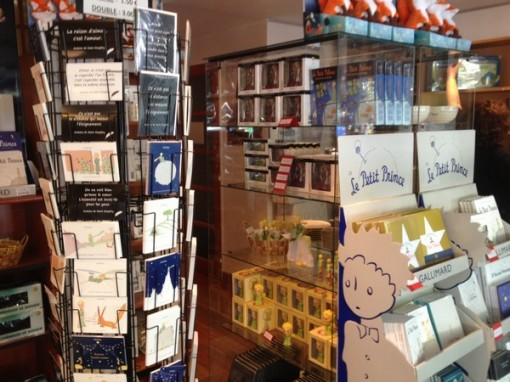 The Little Prince is one of a handful of French children's books that are globally know. It even has a store dedicated to it in Paris, pictured here.