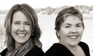 Corina Koch MacLeod, left, and Carla Douglas of Beyond Paper Editing