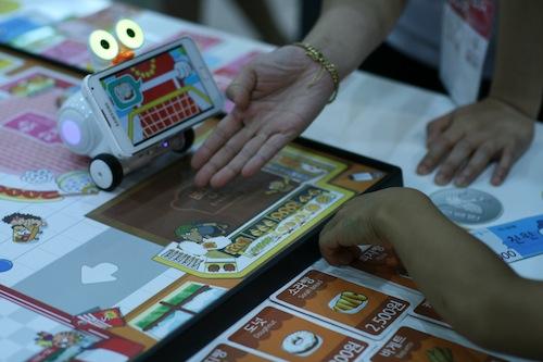 A demonstration of SK Telecom's Smart Robot Albert