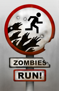 Zombies! Run! by @NaomiAlltheNews Naomi Alderman