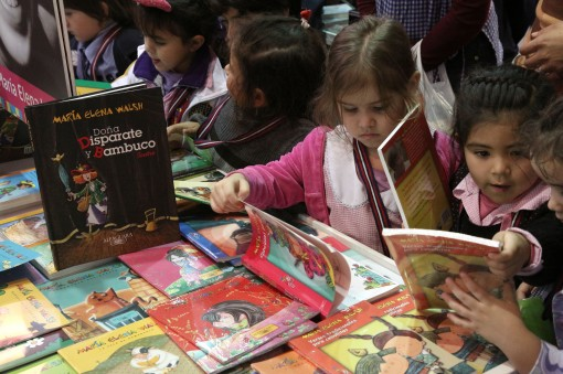 Children at the BA Children's and Youth Book Fair