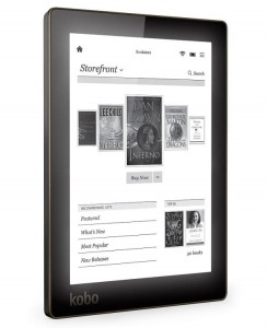 The Aura HD, though pricey, represents 25% of Kobo's sales.