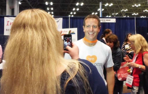 Hugh Howey at BEA