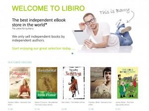 Libiro home page