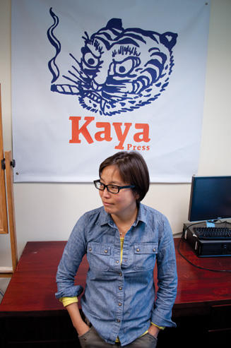 Sunyoung Lee of Kaya Press