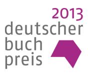 german book prize 2013