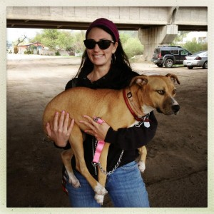 Erin Siegel McIntyre in Tijuana writes Scratch's Freelancer's Journal. Photo: Eros Hoagland