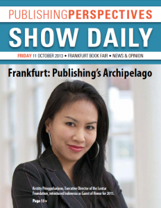 friday frankfurt 2013 show daily cover