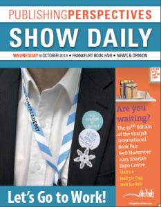 wed frankfurt 2013 show daily cover