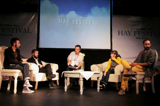 The Graphic Novel panel at Hay Festival Xalapa.