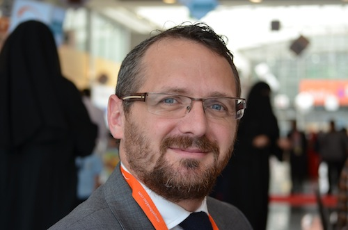 Matt Cowdery, Hachette's man in the Middle East