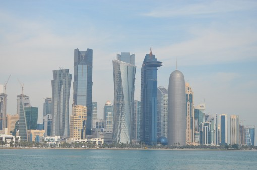 The Doha skyline may be straight out of the 21st century, but the practice of censorship is still firmly in the 20th.