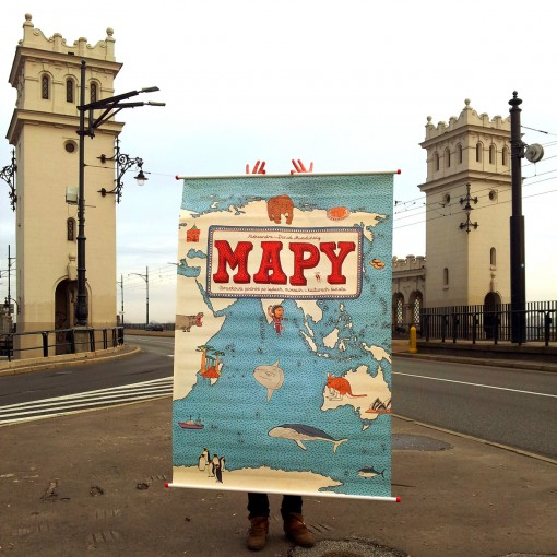 Mapy is another bestseller for the house, one that showcases the company's talent in illustration.
