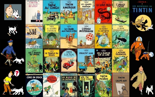 Tin Tin is one of relatively few BD widely known, but not necessarily read, in the United States.