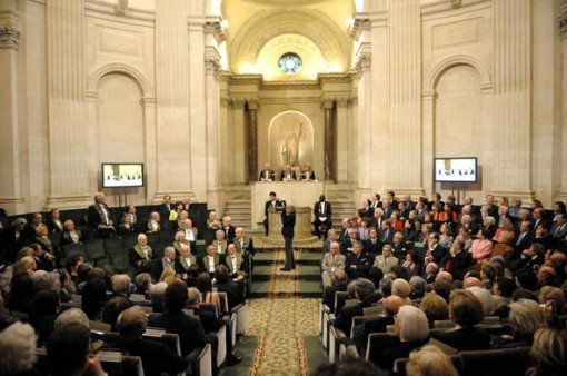 A meeting of the he French Academy on March 12, 2009 (Photo: 20Minutes.fr)