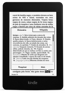 Amazon is claiming 40% ebook marketshare in Brazil.
