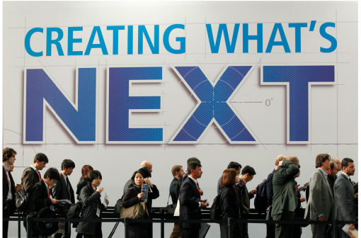 It's no secret what's was on the agenda at the Mobile World Congress this year in Barcelona.