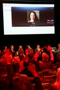 Bella Andre speaks to the London Author Fair via Skype