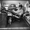 Jill Krementz's iconic photo of Stephen King.