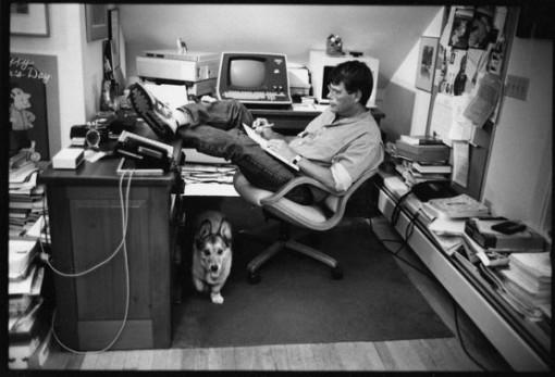 Jill Krementz's iconic photo of Stephen King.