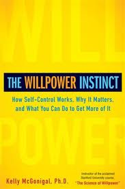 The Willpower Instinct has been an inspiration and a book Dolan is re-reading.