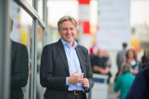 Juergen Boos, Director of the Frankfurt Book Fair (Photo: Peter Hirth / Frankfurter Buchmesse)