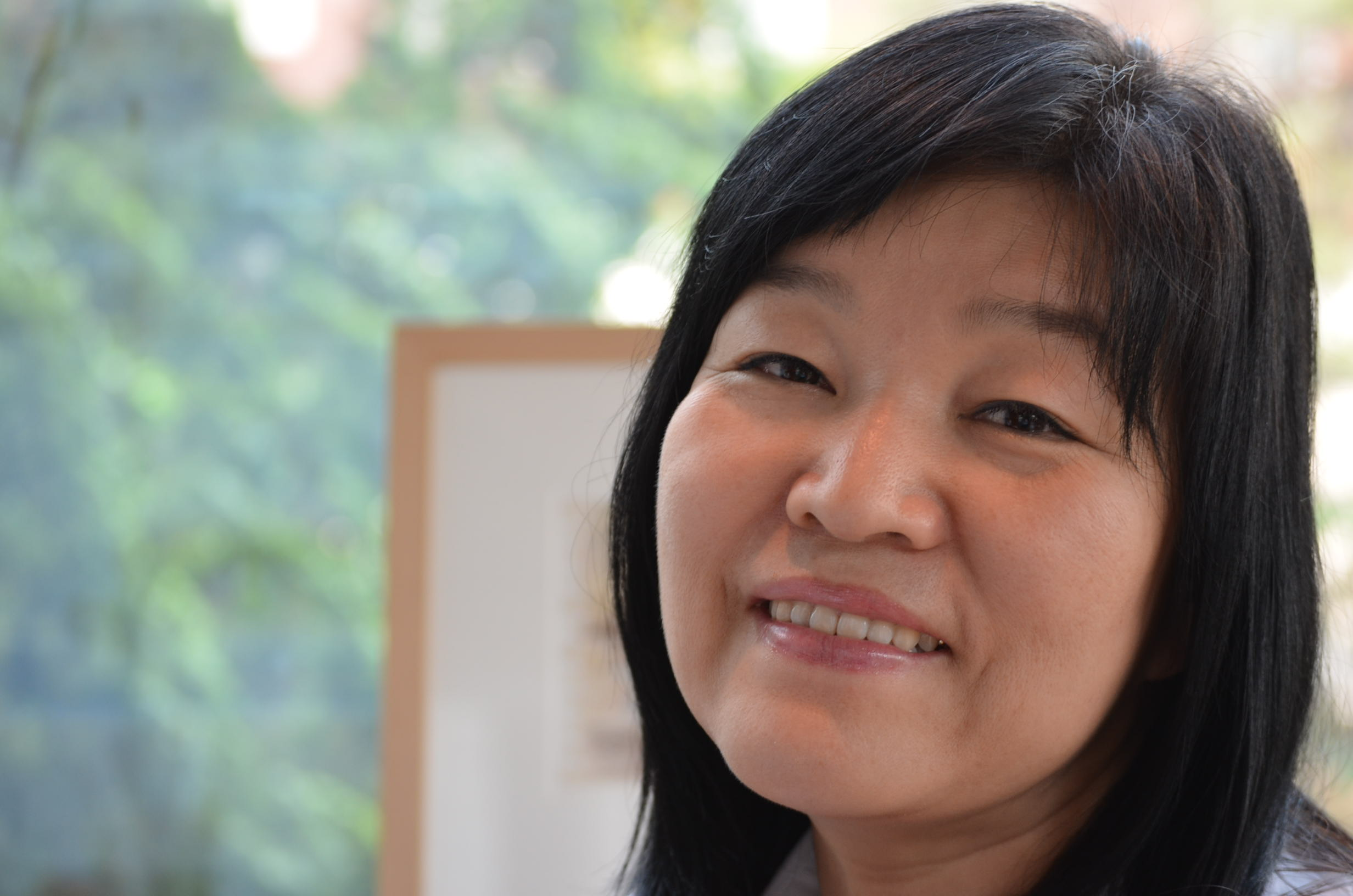Korean author Kyung-sook Shin.