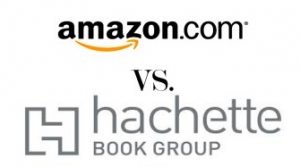 Amazon vs. Hachette Logos