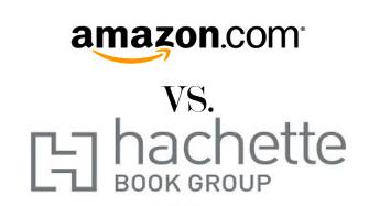 Amazon vs. Hachette Logos
