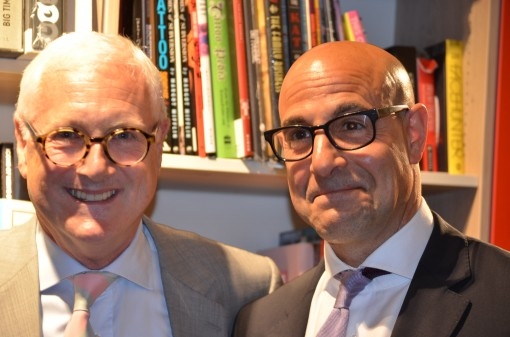 David Young and Stanley Tucci
