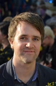 Festival director Jon Slack