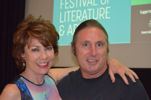 Kathy Lette and Tim Winton