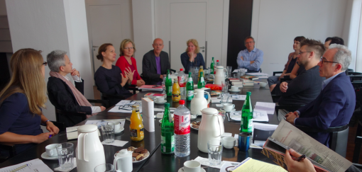 The English-language editors meeting at S. Fischer Verlag