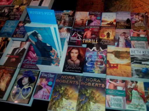 Books for Sale at the Romance Writers of America's annual conference.