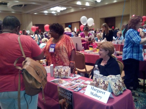 "Lines were long at the RWA's ""World's Biggest Book Signing"""