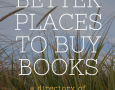 Better Places to Buy Books