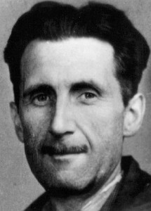 George Orwell, as if you didn't know already.