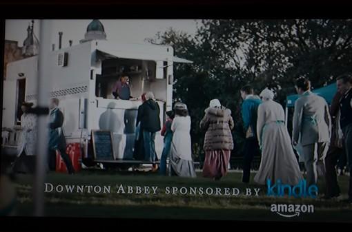 Downton & Kindle message