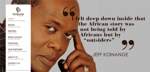 Footprints Press focuses on the life stories of prominent Kenyans.