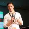 Ben Willis of Headline UK speaks at the Frankfurt Book Fair
