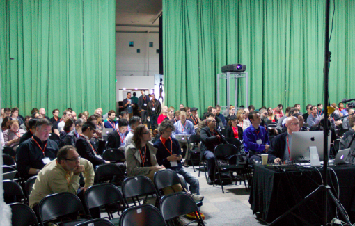 Audience at Books in Browsers 2014