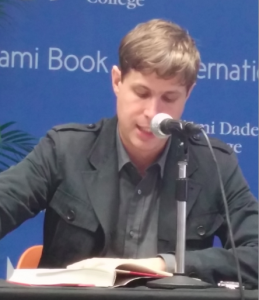 German author Daniel Kehlmann at the Miami Book Fair