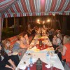 Dinner in a desert wadi is one of the attractions for invited international guests.