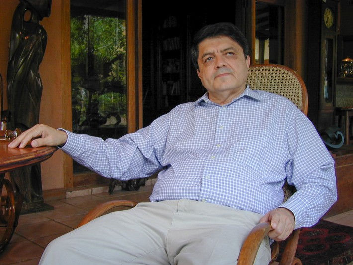 Nicaraguan author Sergio Ramírez
